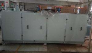 广州南沙某电子高科技公司的生产车间精密中央空调清洗