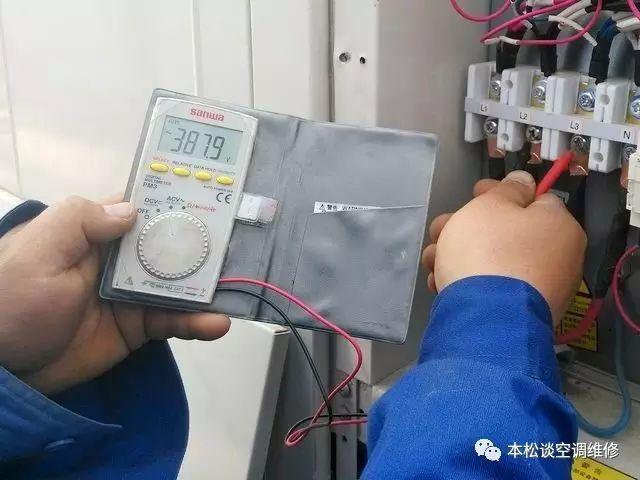 格力GMV五代多联机室外机双八数码管显示PH、PL怎么维修?